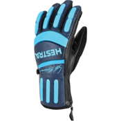 Hestra Seth Morrison Pro Gloves, Navy-Turquoise, medium
