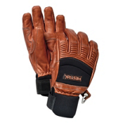 Hestra Cross Gloves, Brown-Black, medium
