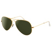 Ray-Ban Aviator Large Metal Sunglasses, Arista, medium
