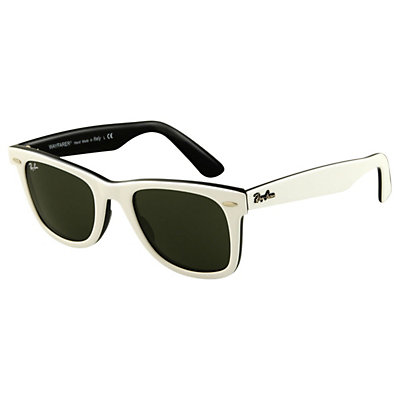Ray-Ban Original Wayfarer Sunglasses, White, large
