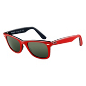 Ray-Ban Original Wayfarer Sunglasses, Red, medium