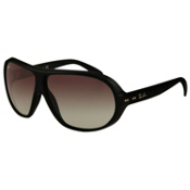 Ray-Ban RB4129 Sunglasses, Black, medium