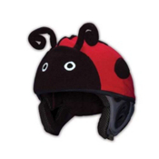 Mental Lady Bug Helmet Cover, Red, medium