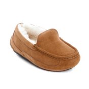 UGG Australia Ascot Boys Slippers, Chestnut, medium