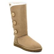 UGG Bailey Button Triplet Womens Boots, Sand, medium