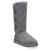UGG Bailey Button Triplet Womens Boots, Grey, medium