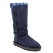 UGG Australia Bailey Button Triplet Womens Boots, Navy, medium