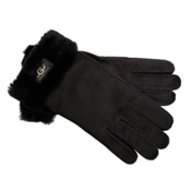 UGG Australia Turn Cuff Womens Gloves, Black, medium