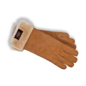 UGG Australia Turn Cuff Womens Gloves, Chestnut, medium