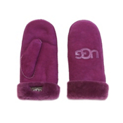 UGG Australia Logo Mittens Womens Gloves, Sugar Plum, medium
