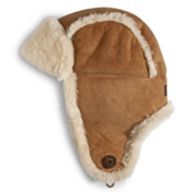 UGG Australia Bailey Aviator Womens Hat, Chestnut, medium