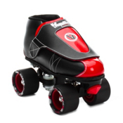 Vanilla Junior Jam Plug Boys Jam Roller Skates, Black-Red, medium