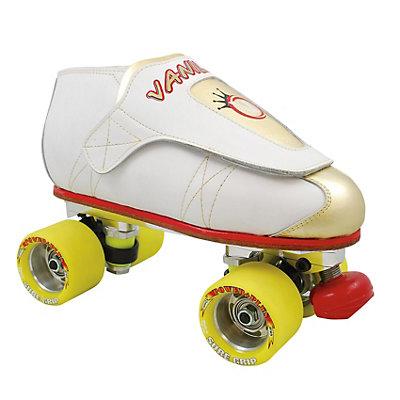 Vanilla Tony Zane Gold PowerTrac Power Plus Jam Roller Skates, , large