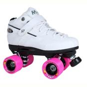 Rock GT-50 Zoom White Boys Speed Roller Skates, White, medium
