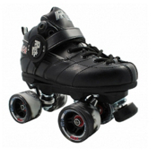 Rock GT-50 Twister Black Speed Roller Skates, Black, medium