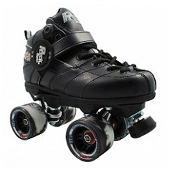 Rock GT-50 Twister Black Speed Roller Skates, Black, 256