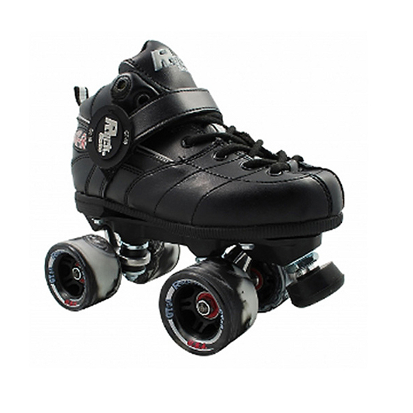 Rock GT-50 Twister Black Speed Roller Skates, Black, 600