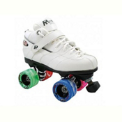 Rock GT-50 Twister White Boys Speed Roller Skates, White, medium