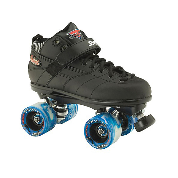 Sure Grip International Rebel Twister Speed Roller Skates, Black, 600