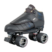 Labeda G-80 Black Speed Roller Skates, Black, medium