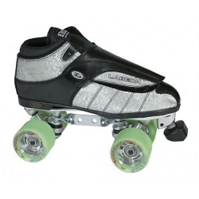 Labeda G-80 XK4 Doubler Power Plus Silver Boys Speed Roller Skates, , large