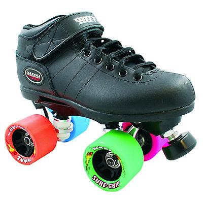 Carrera Zoom Black Speed Roller Skates, , large