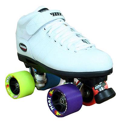 Carrera Zoom White Speed Roller Skates, , large
