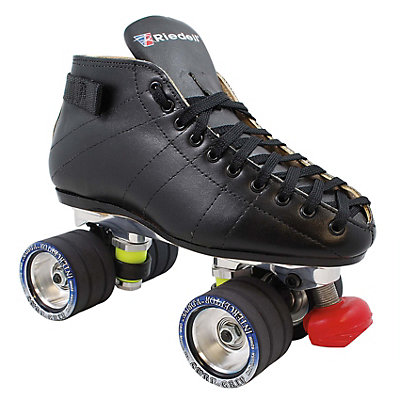 Riedell 595 PowerTrac V-Drive Speed Roller Skates, , large