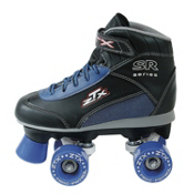 Pacer ZTX Junior Boys Speed Roller Skates 2013, Black-Blue, medium