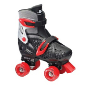 Pacer XT70 Junior Boys Artistic Roller Skates 2016, Black, medium