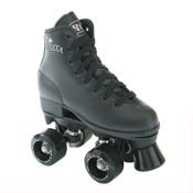 RC Lenexa Star Juvenile Boys Outdoor Roller Skates 2013, Black, medium