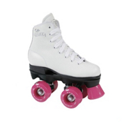 RC Lenexa Star Juvenile Girls Outdoor Roller Skates 2013, White, medium