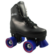 Chicago Juvenile Boys Outdoor Roller Skates, Black, medium