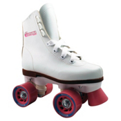 Chicago Juvenile Girls Outdoor Roller Skates 2013, White, medium