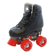 Pacer Madrid Junior Boys Artistic Roller Skates 2013, Black, medium