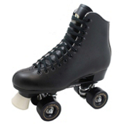 Dominion Roller Bones Artistic Roller Skates 2013, Black, medium