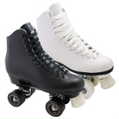 Dominion Roller Bones Womens Artistic Roller Skates 2013, White, medium