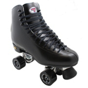 Sure Grip International 73 Super X Medallion Plus Artistic Roller Skates 2013, Black, medium