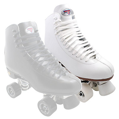Sure Grip International 73 Super X Medallion Plus Womens Artistic Roller Skates, White, viewer