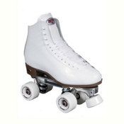 Sure Grip International 73 Competitor Fame Womens Artistic Roller Skates 2013, White, medium