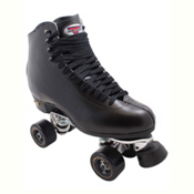 Sure Grip International 73 Century Roller Bones Artistic Roller Skates, Black, medium