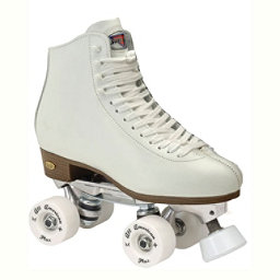 Sure Grip International 73 Century Roller Bones Artistic Roller Skates, White, 256