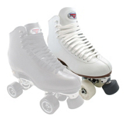Sure Grip International 73 Classic Elite Womens Artistic Roller Skates 2013, White, medium