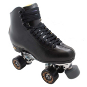 Sure Grip International 93 Century Bones Elite Artistic Roller Skates 2013, Black, medium
