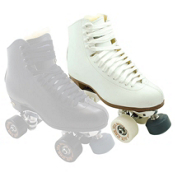 Sure Grip International 93 Advantage Super Elite Womens Artistic Roller Skates, White, medium