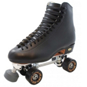 Riedell  220 Snyder Deluxe Super Elite Boys Artistic Roller Skates, , medium