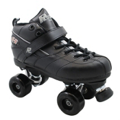 Rock GT50 Aerobic Boys Speed Roller Skates, Black, medium