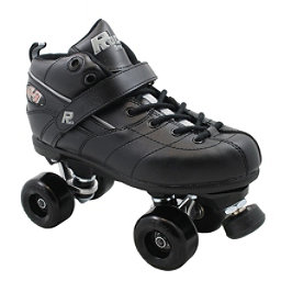 Rock GT50 Aerobic Boys Speed Roller Skates, Black, 256