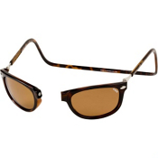 Clic Eyewear Ashbury Adult Sunglasses, Tortoise, medium