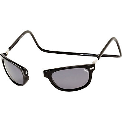 Clic Eyewear Ashbury Adult Sunglasses, Black, large